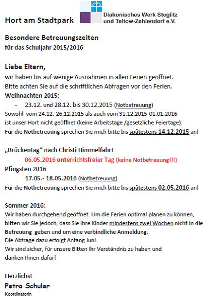 Schließzeiten15-16